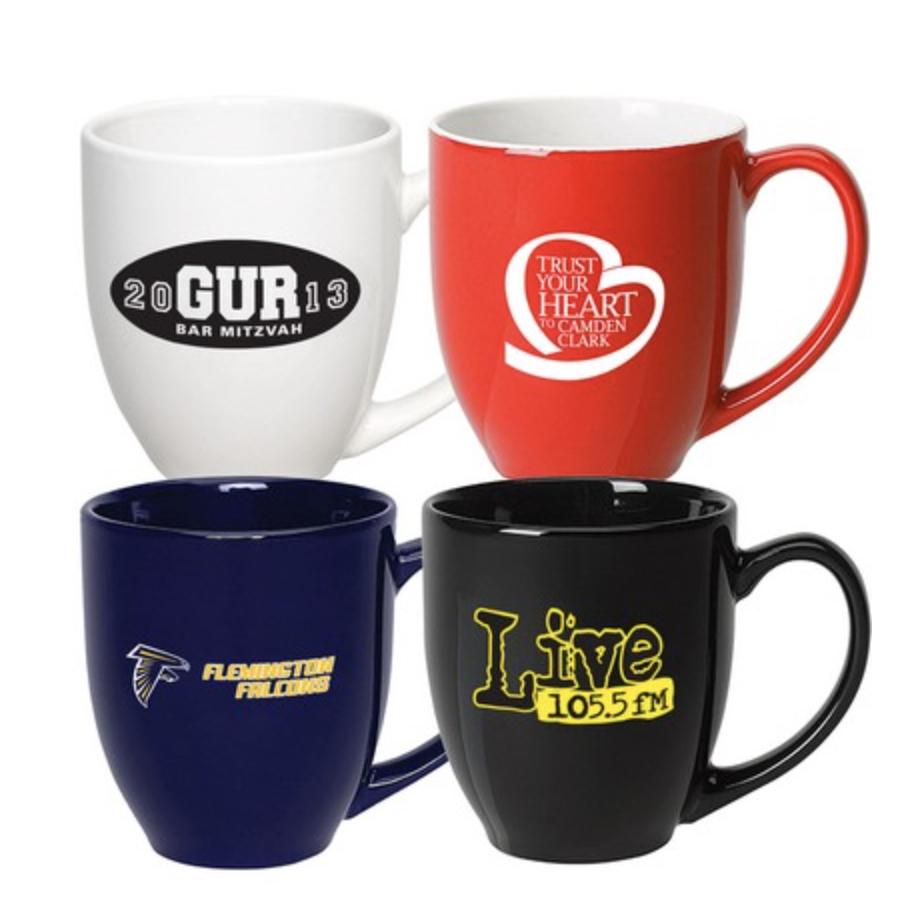 15 Oz. Bistro Mug (White)