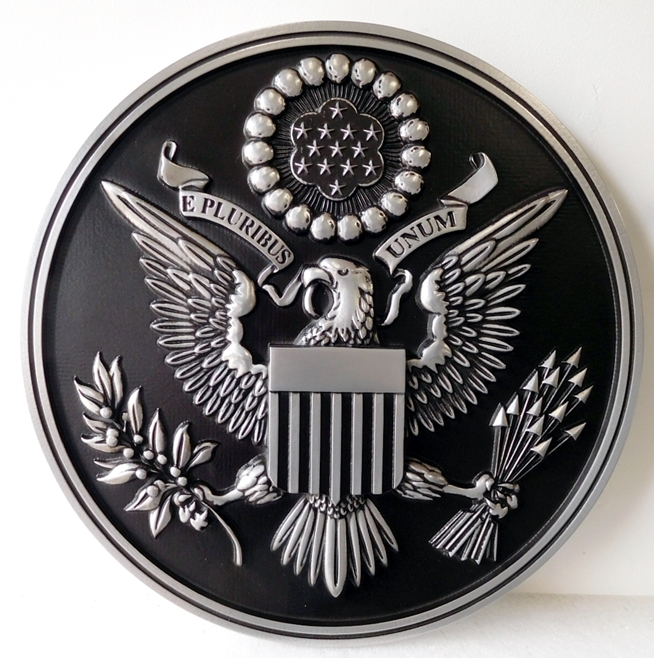 EA-3025- Great Seal of the United States(Center Artwork)  on Sintra Board