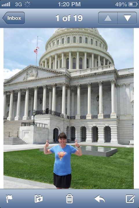 Sammy's Superheroes on Capitol Hill!