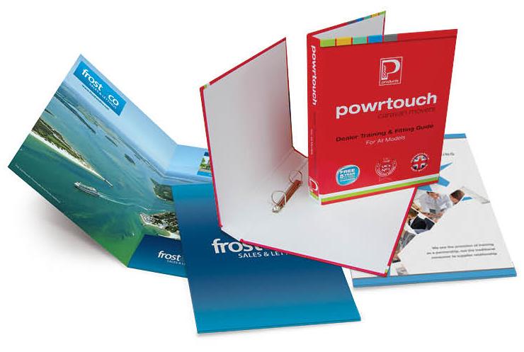 presentation folder printing corporate folders ringbinders