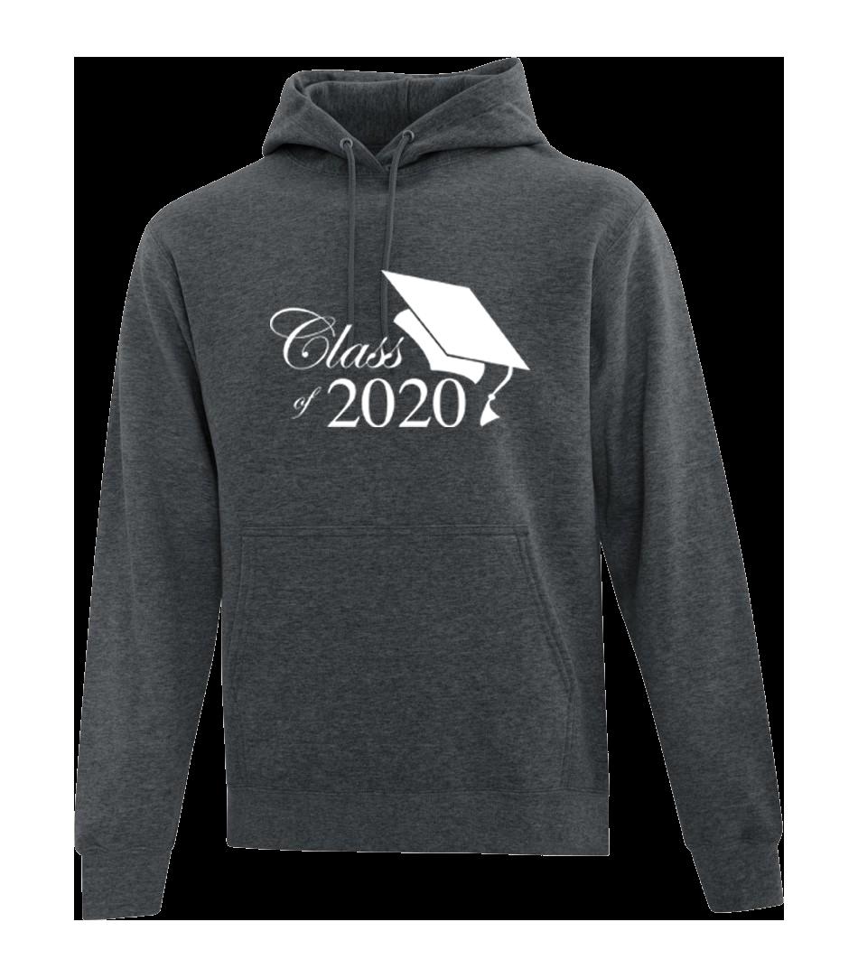 Grad 2020 Hoodie - Class of 2020 (With grad cap)