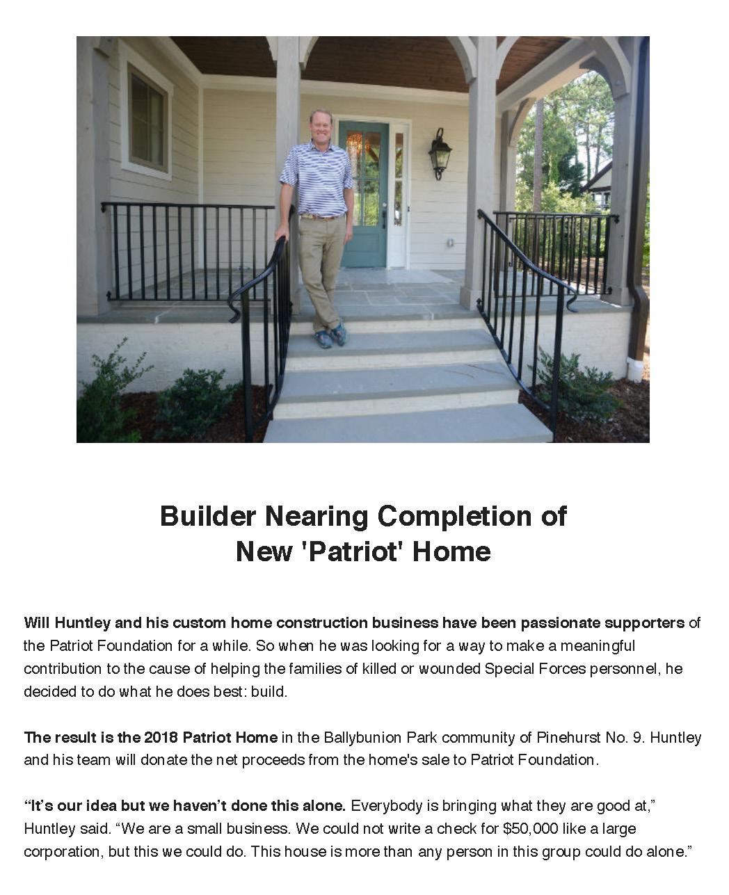 The Pilot - Patriot House
