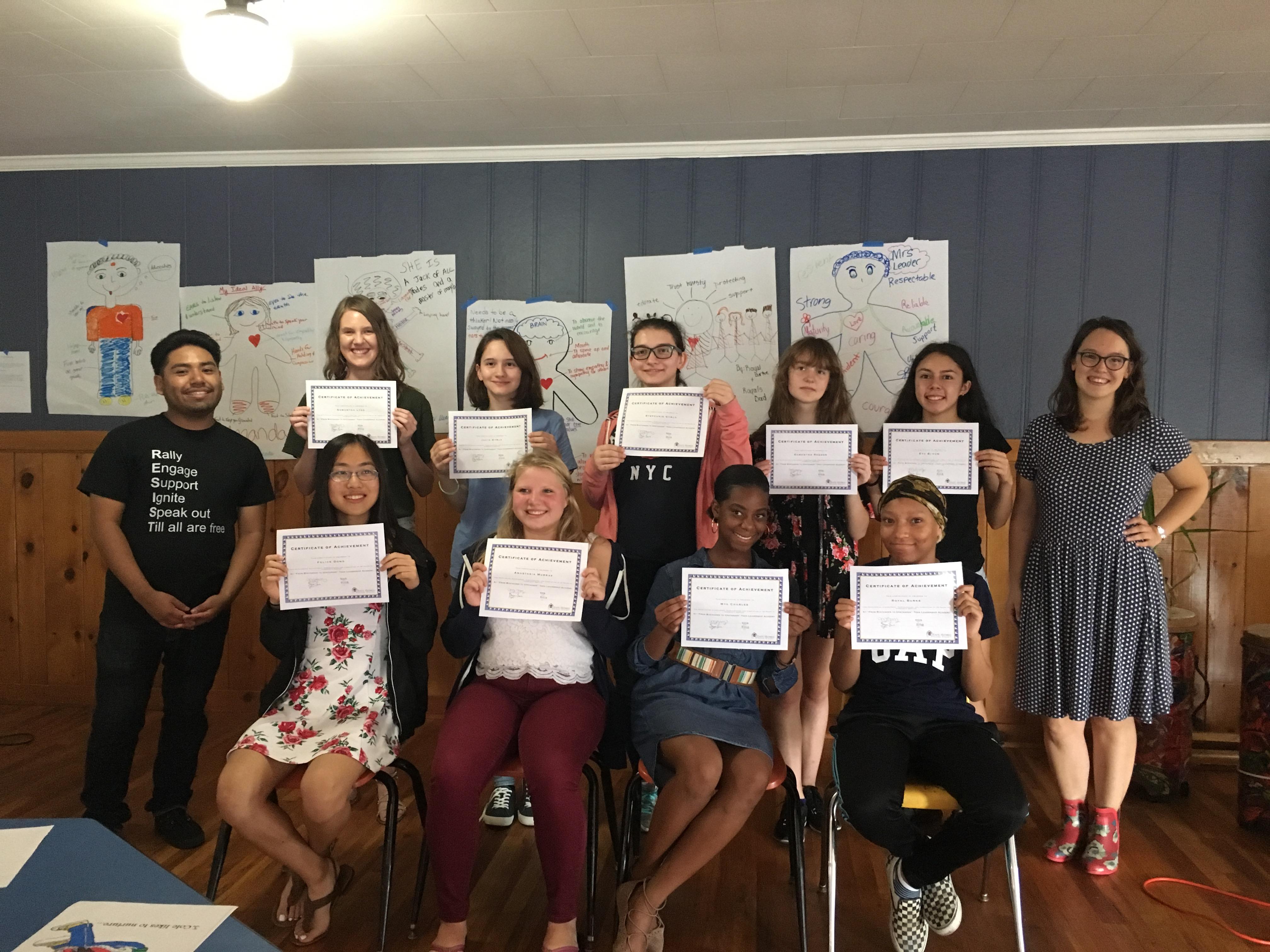 Summer Youth Leadership Academies
