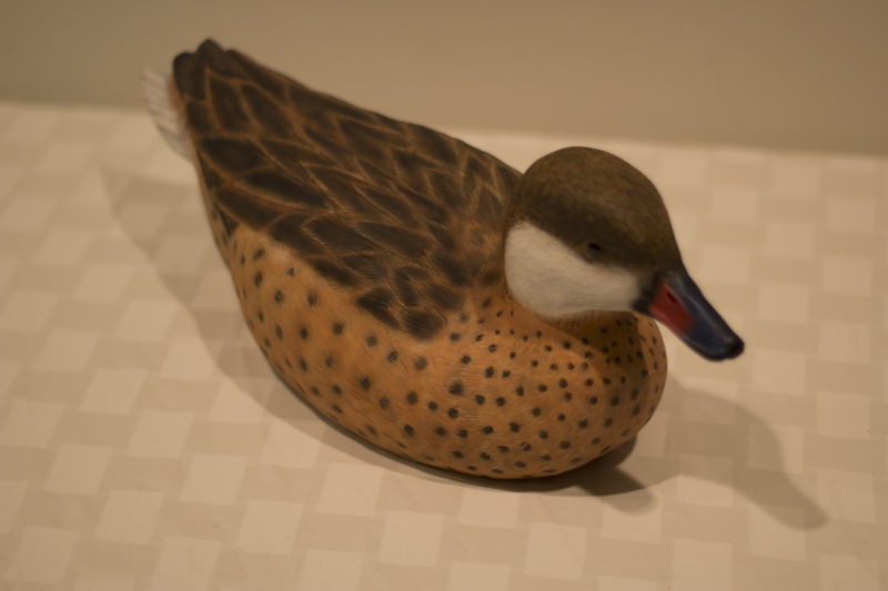 Decorative Duck Decoy - Donated by the artist, Doug Wortman