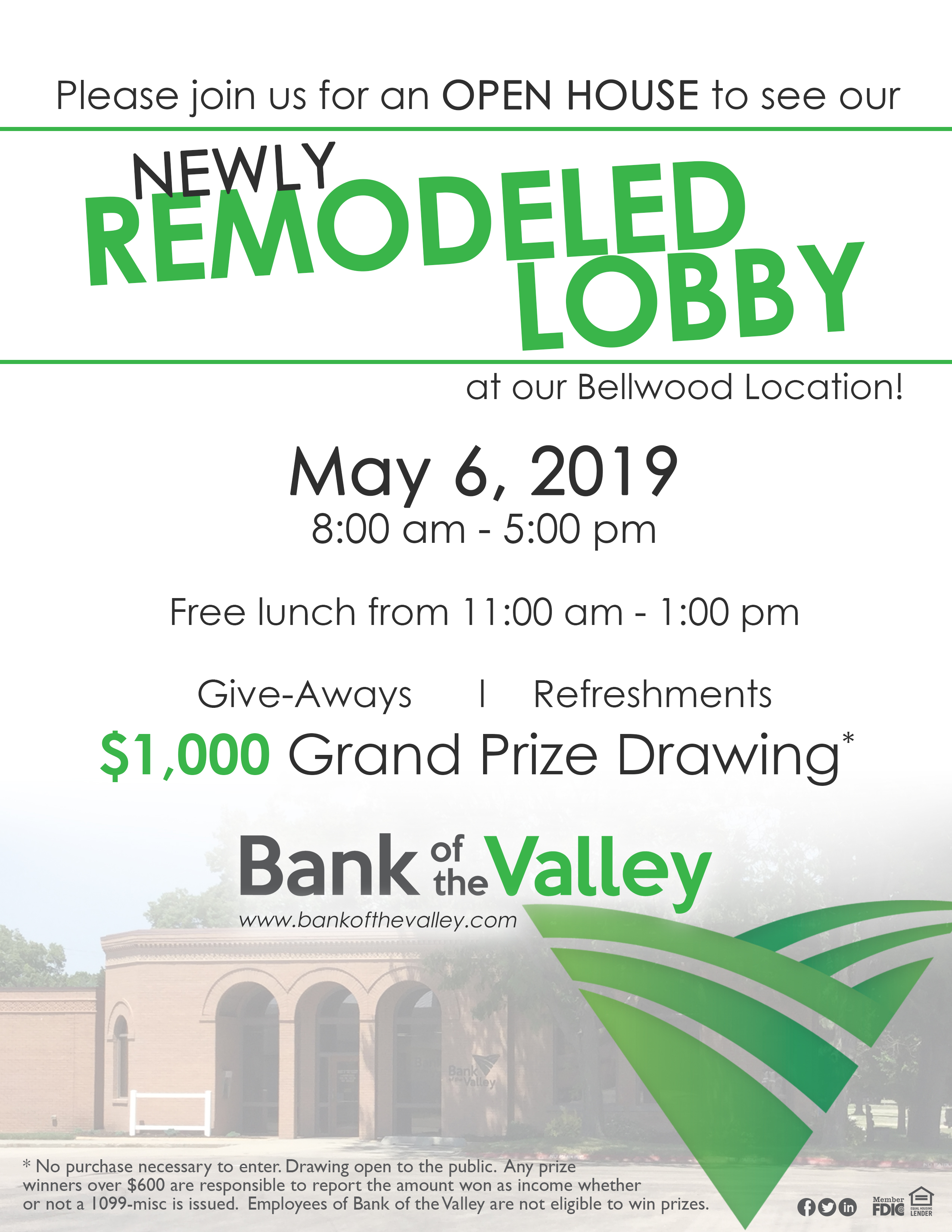 Bank of Valley Open House