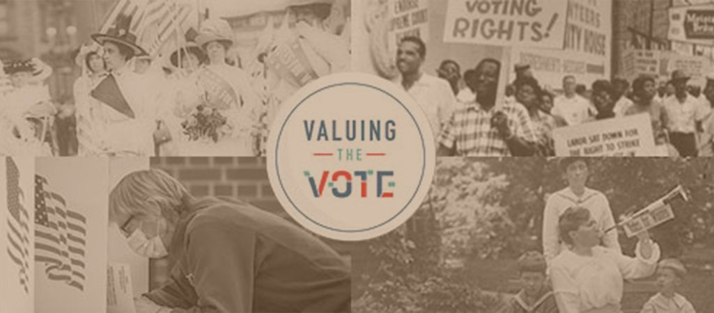 Explore the history of voting rights in a new virtual series