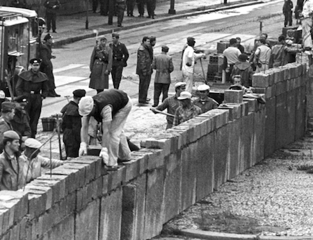 1961: Berlin Wall Contstruction Began