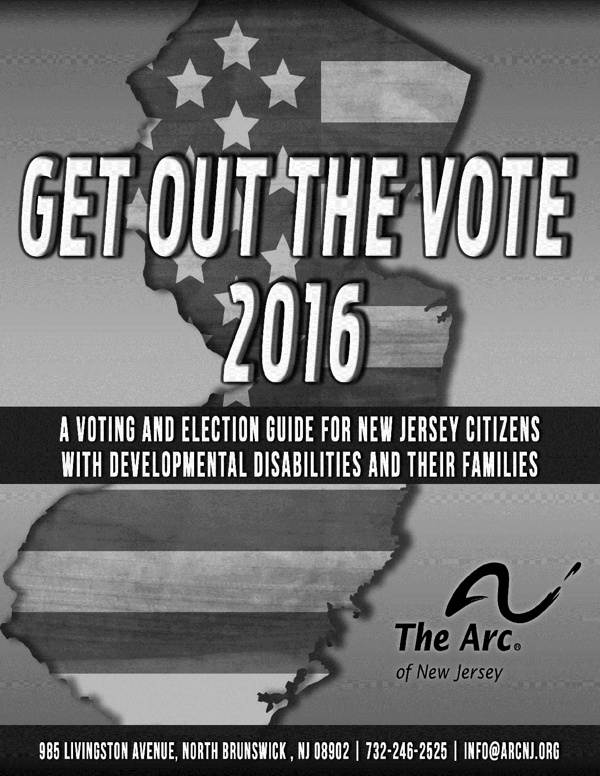 Get Out the Vote - Black & White
