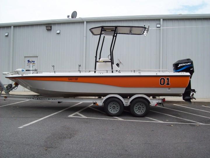 Dukes of Hazzard Boat