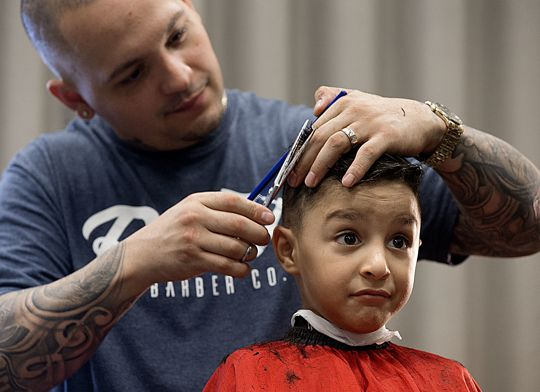 Deseret News: Sneakers, Backpacks and Haircuts Give Hope