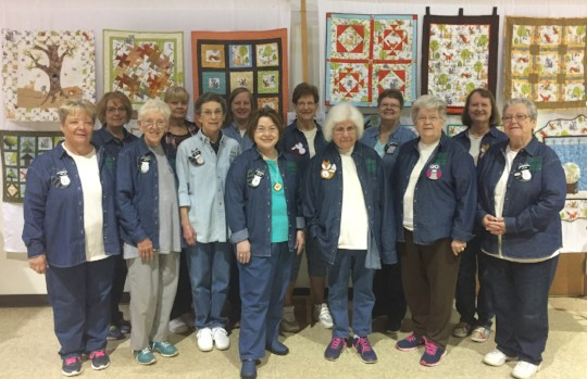 Woodland Quilters at Quilt Show 2018