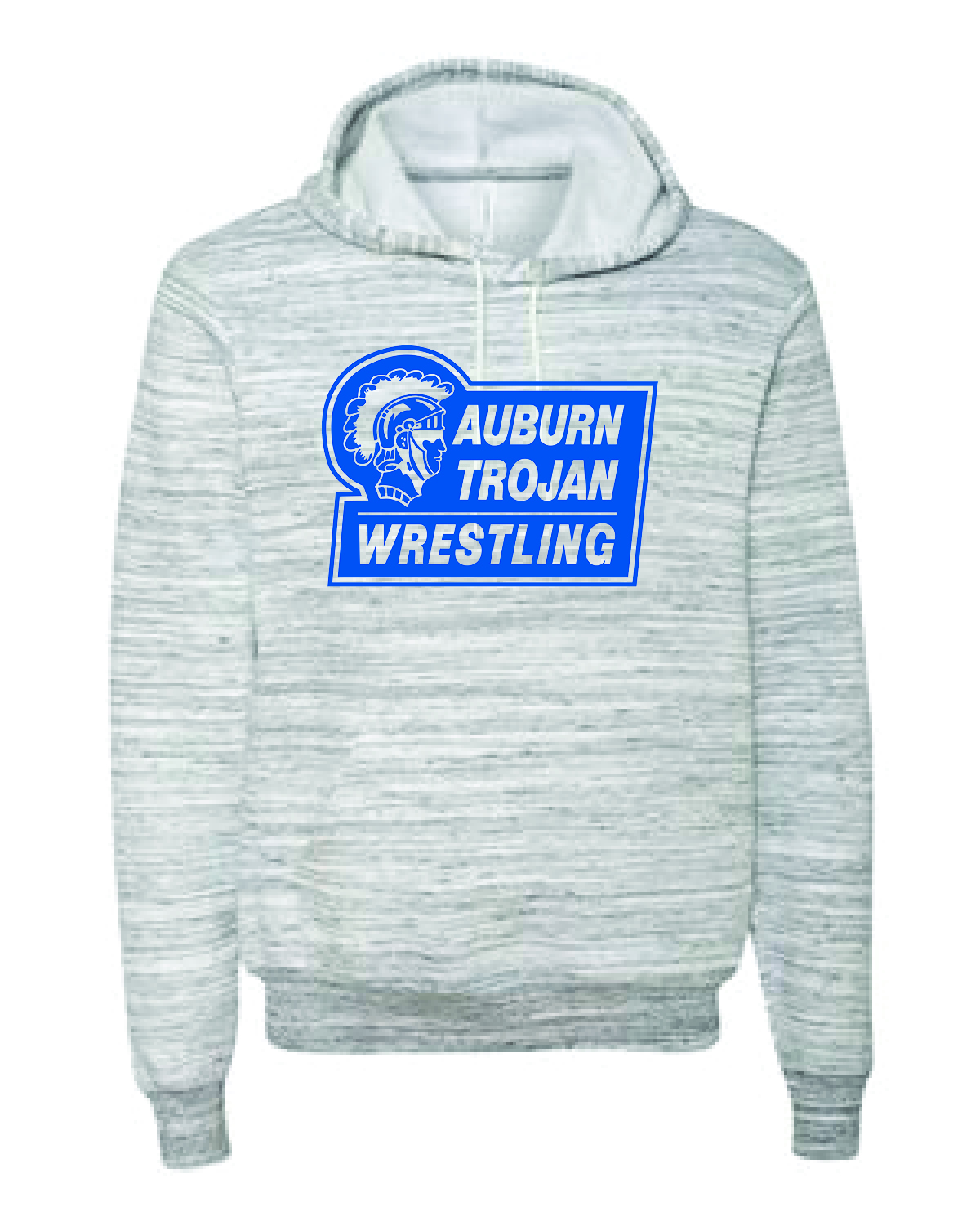 WRESTLING HOODIE - BELLA + CANVAS - Unisex Sponge Fleece- WOMENS