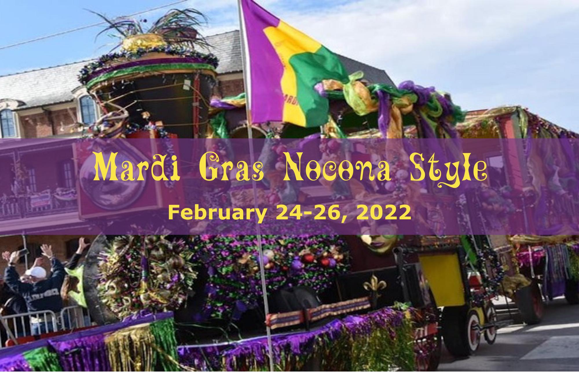 Mardi Gras Nocona Style 2022