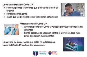 Delta Variant Poster Photos (Spanish)
