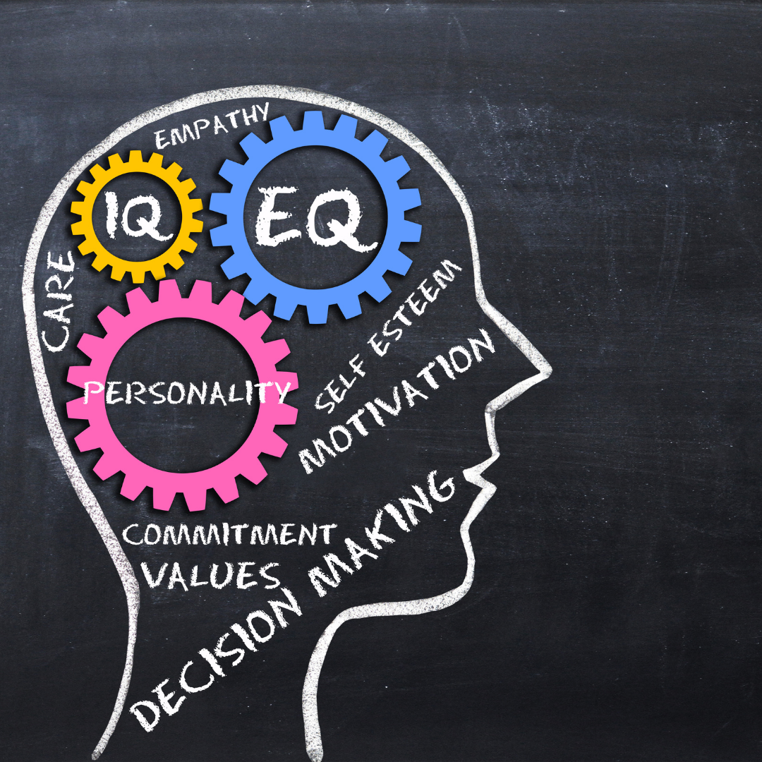 image showing the relationship of EQ and IQ
