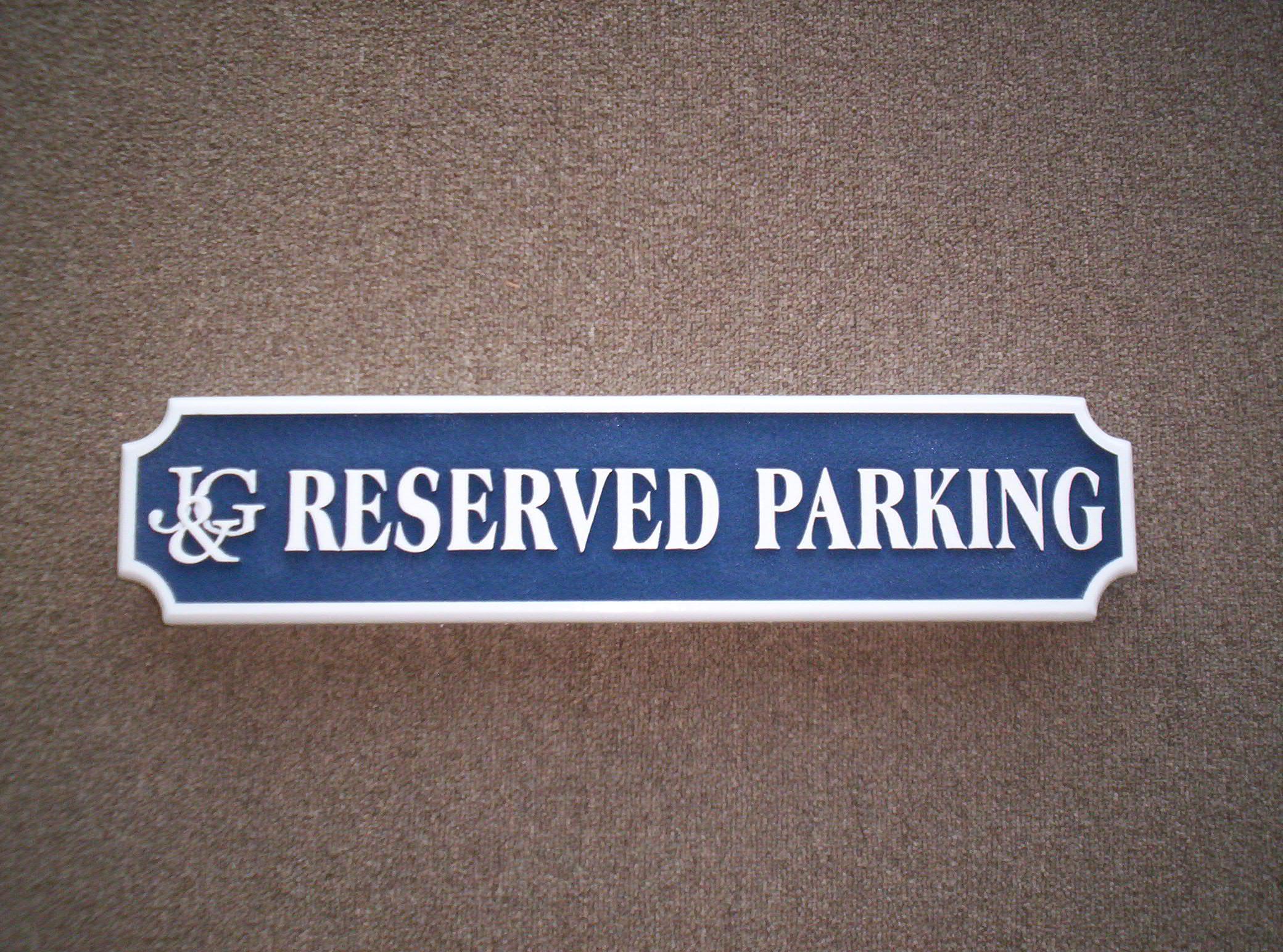 H17330 - Custom HDU Reserved Parking Sign