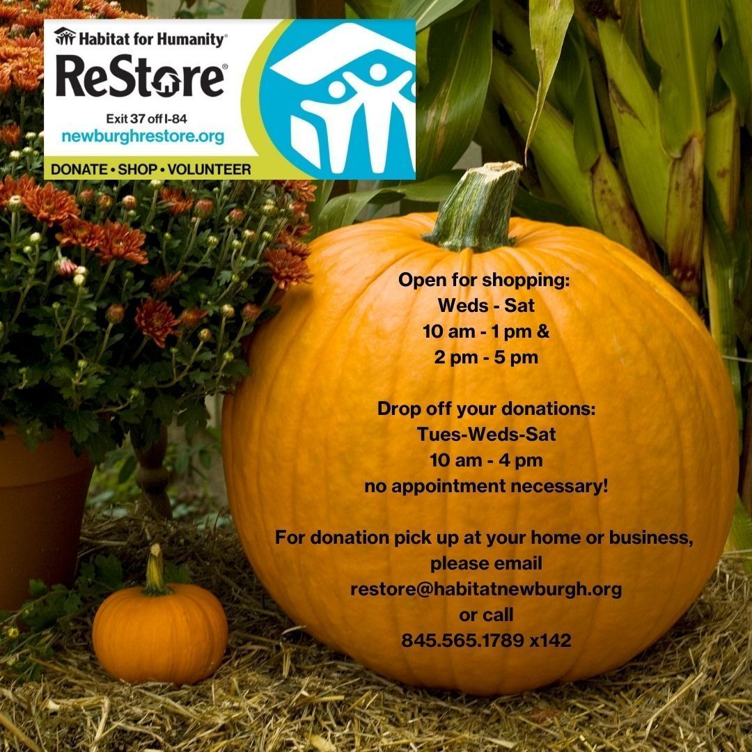 ReStore Shopping & Drop Off Donation Hours
