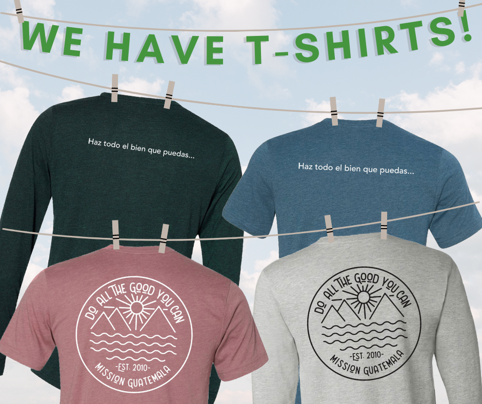 We Have T-Shirts!