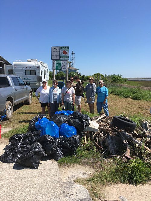 North Jetty Cleanup