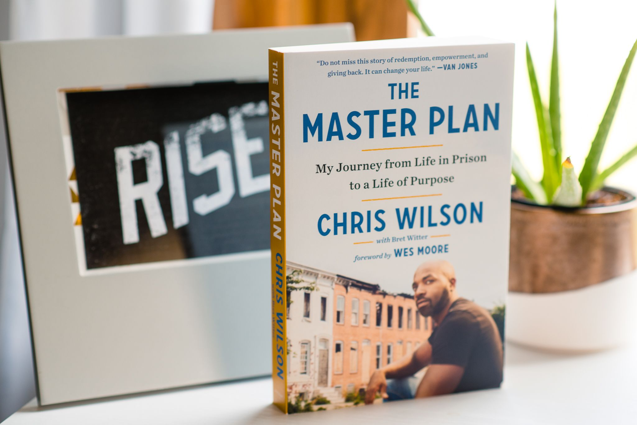 RISE Reads Recap: The Master Plan by Chris Wilson