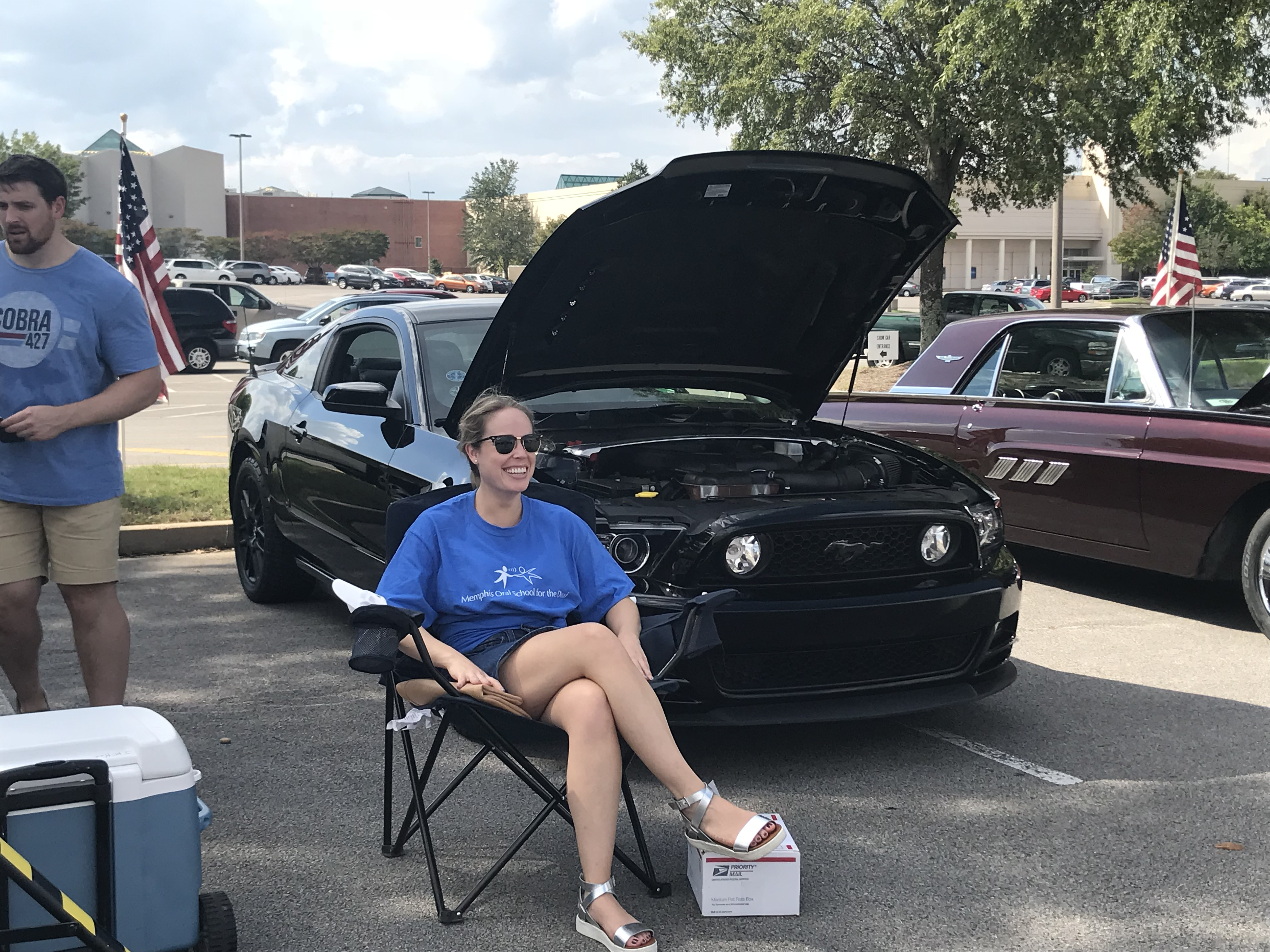 Mustangs of Memphis Auto Show benefiting MOSD!