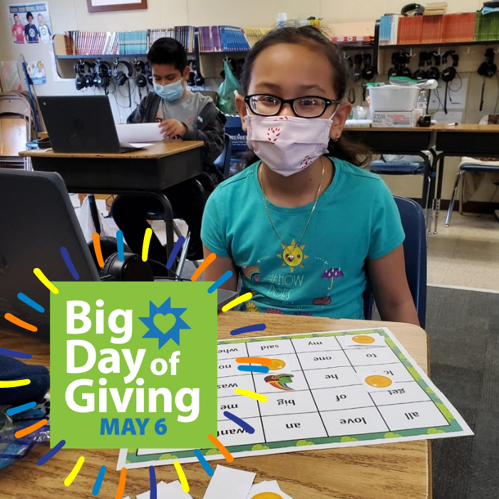 Big Day of Giving - It's here!