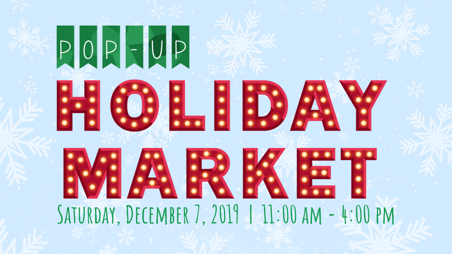 Pop-Up Holiday Market