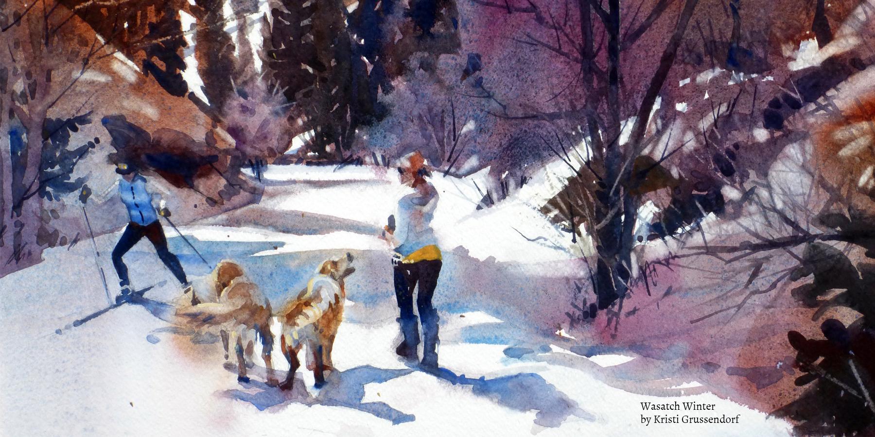 "Utah Watercolor Society Bi-annual ""Two Star /Signature"" Exhibition"