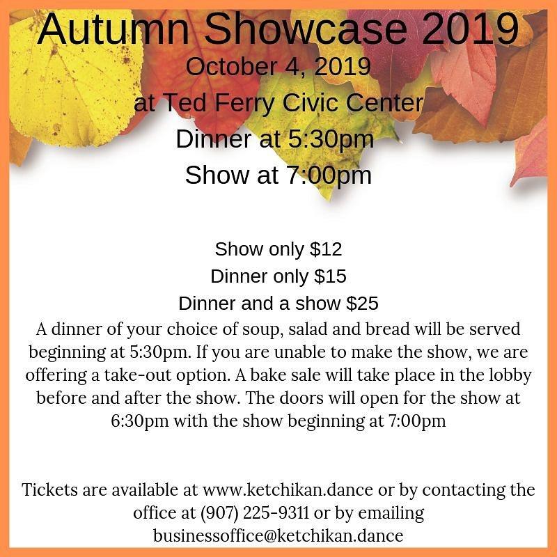 Ketchikan Theatre Ballet Autumn Showcase