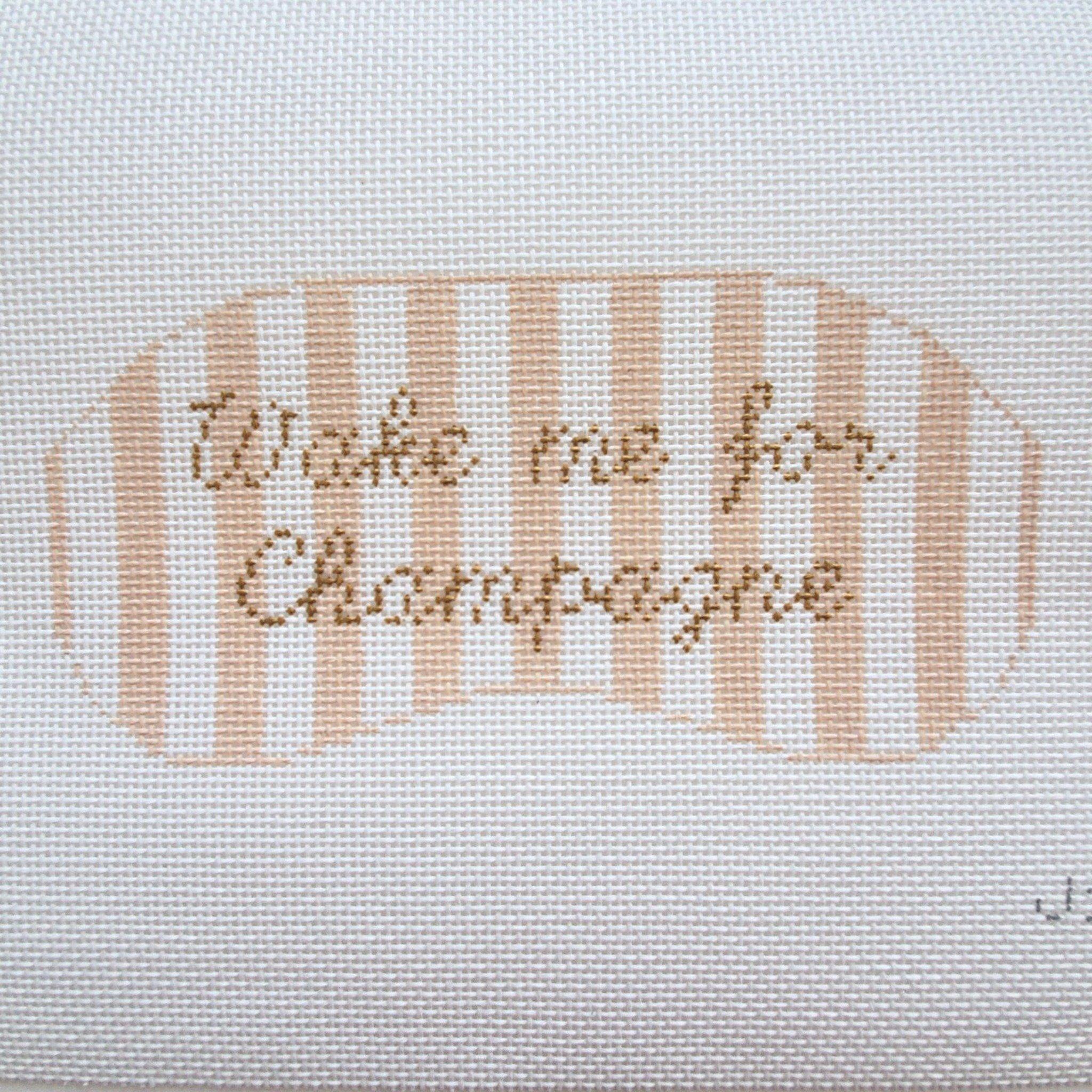 Wake me for Champagne Eye Mask