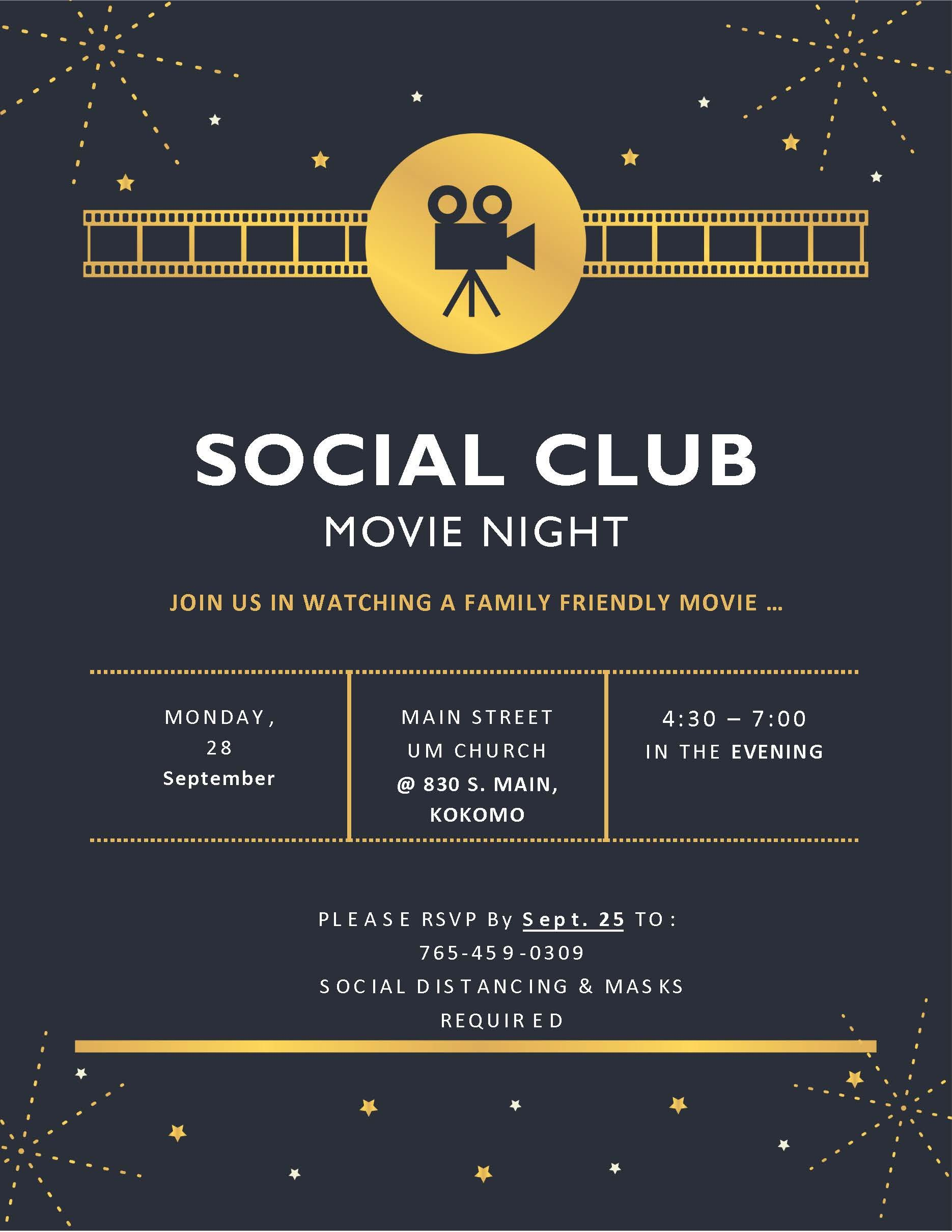 Social Club - Movie Night