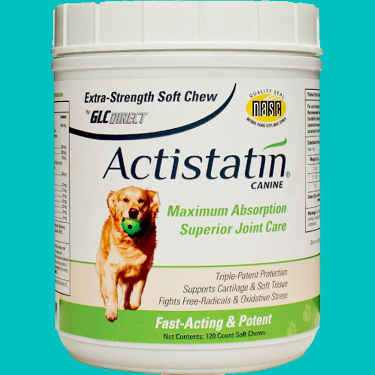 Actistatin® Canine 120 Count