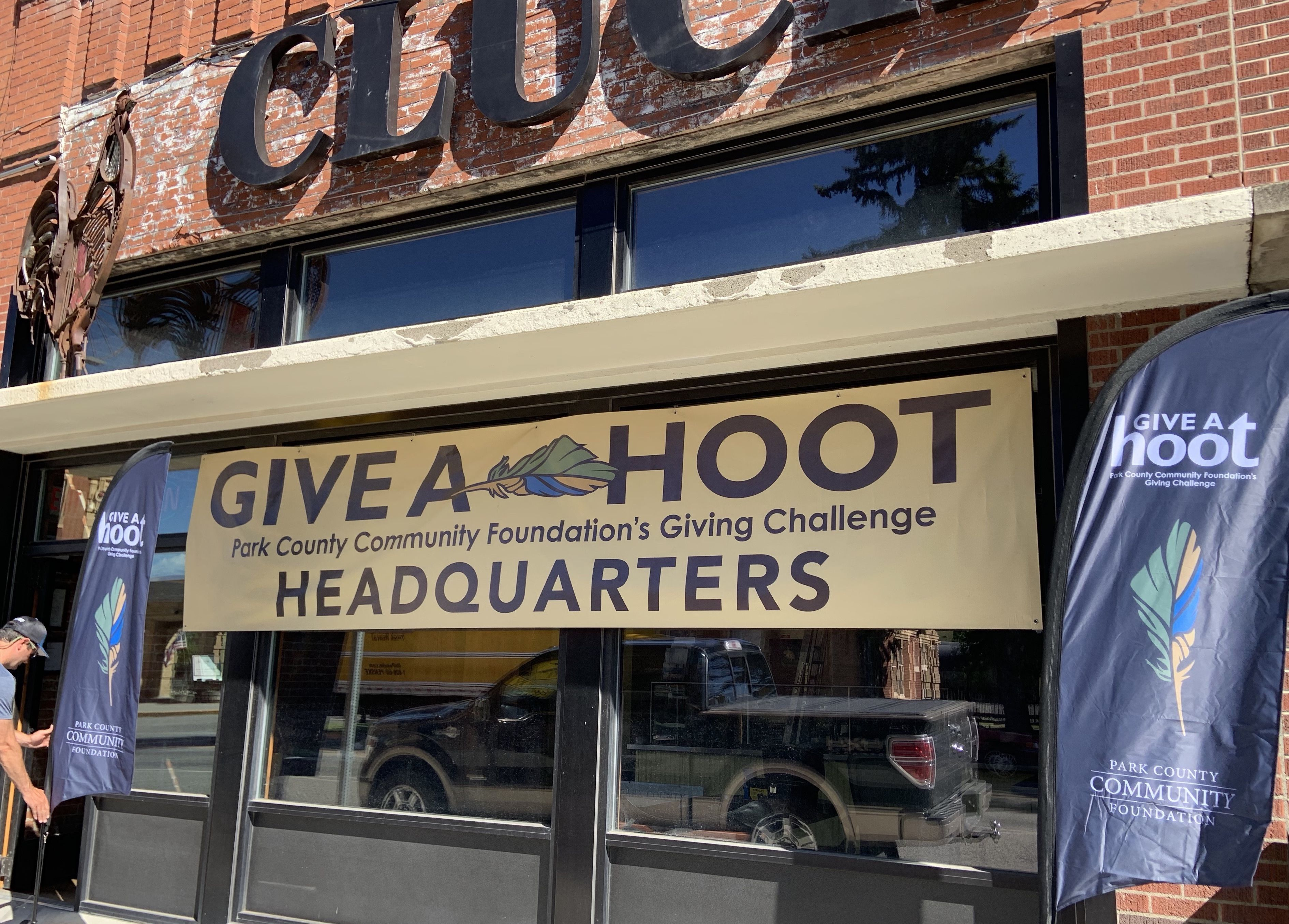 Visit our new office: Give a Hoot Headquarters!