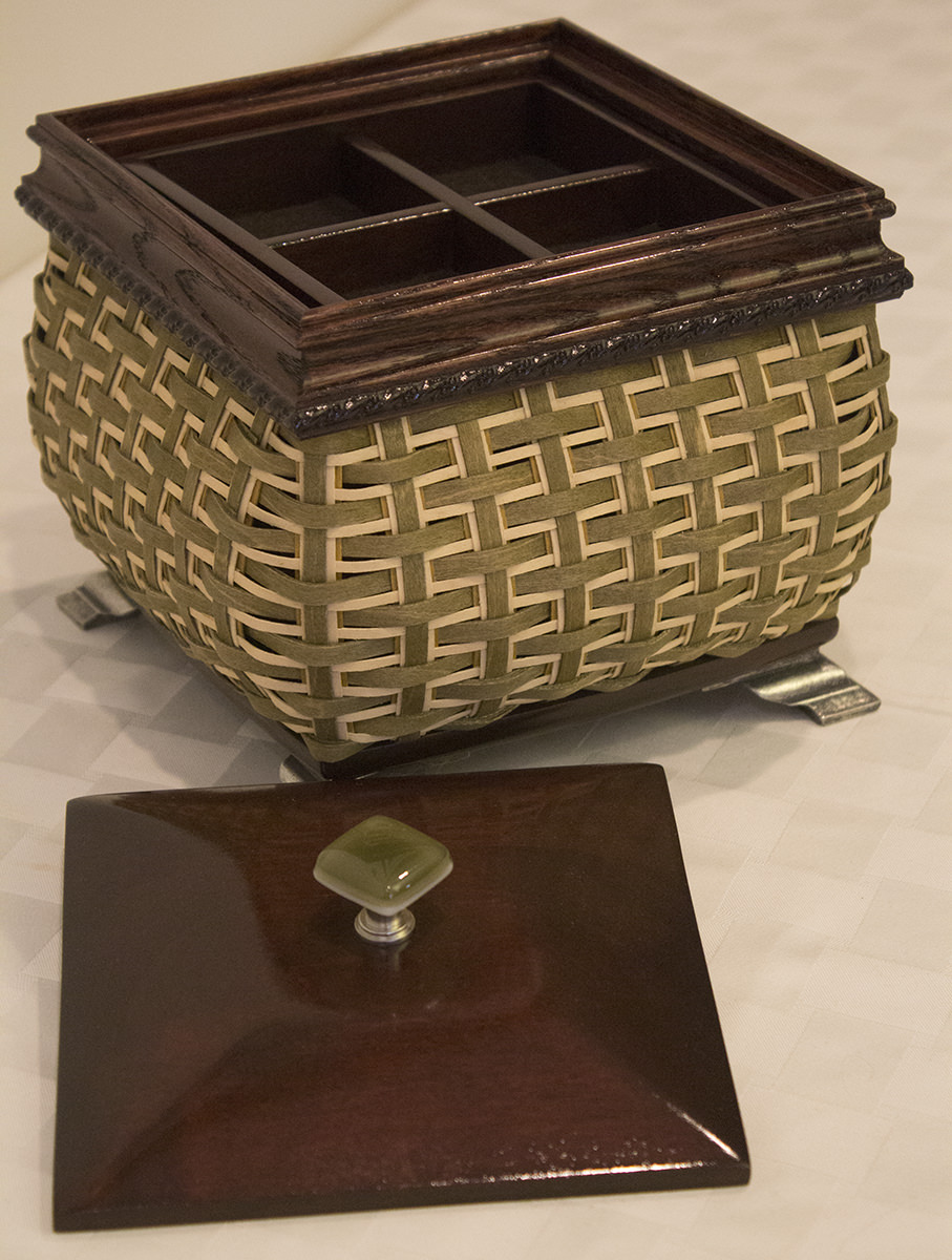 """Master's Studio Heirloom Basket"" - Donated by The Longaberger Co."