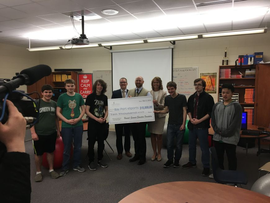 HSEF $10,000 Grant Supports Groundbreaking Bay Port eSports Club