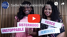 Sadie Nash Leadership Project