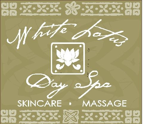 """SA28433 - Decorative 2.5-D Multi-Level Carved Sign for """"White LotusDay  Spa,"""" for Skincare, Massage"""