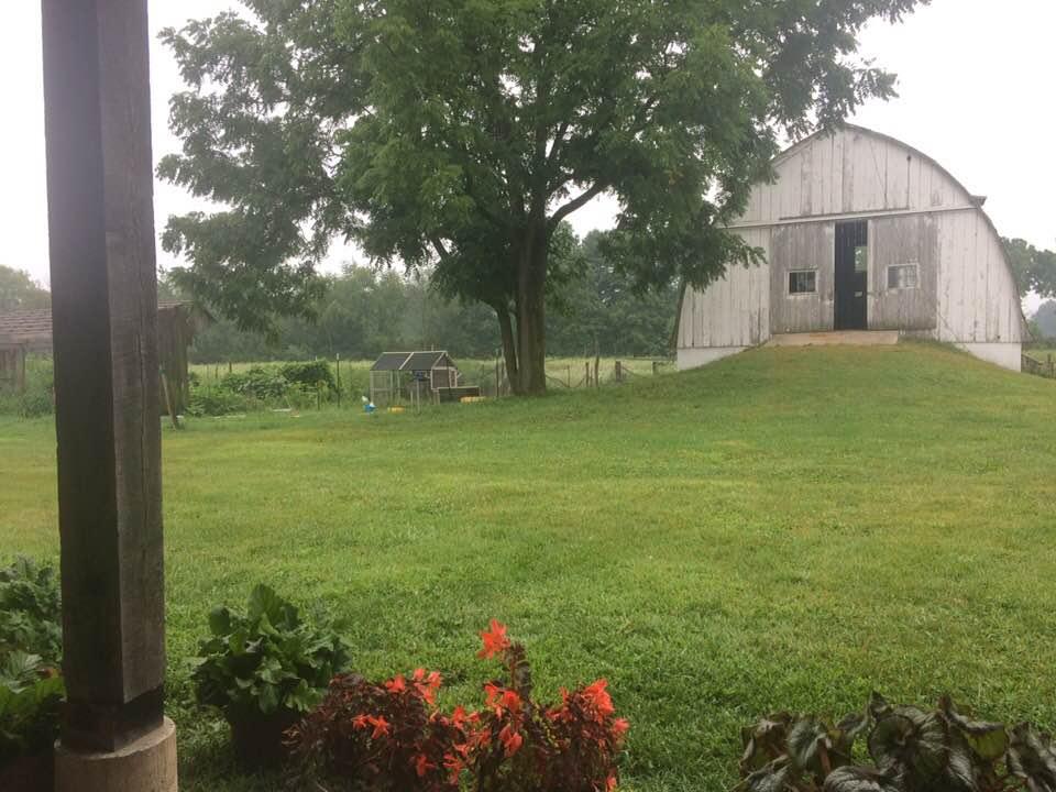 The big barn at AACORN