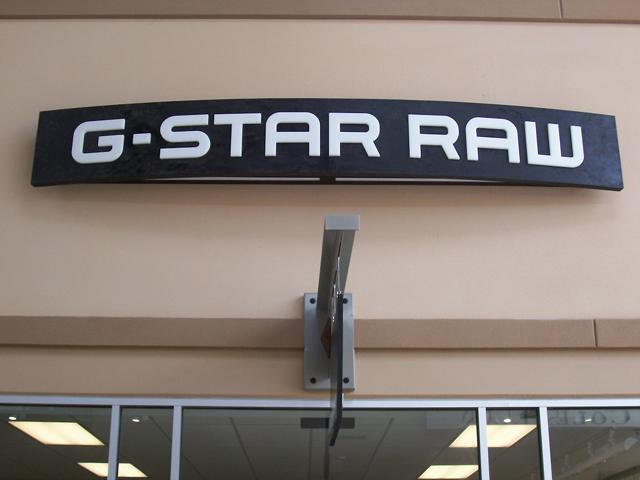 G Star Raw- Manufacture & Installation