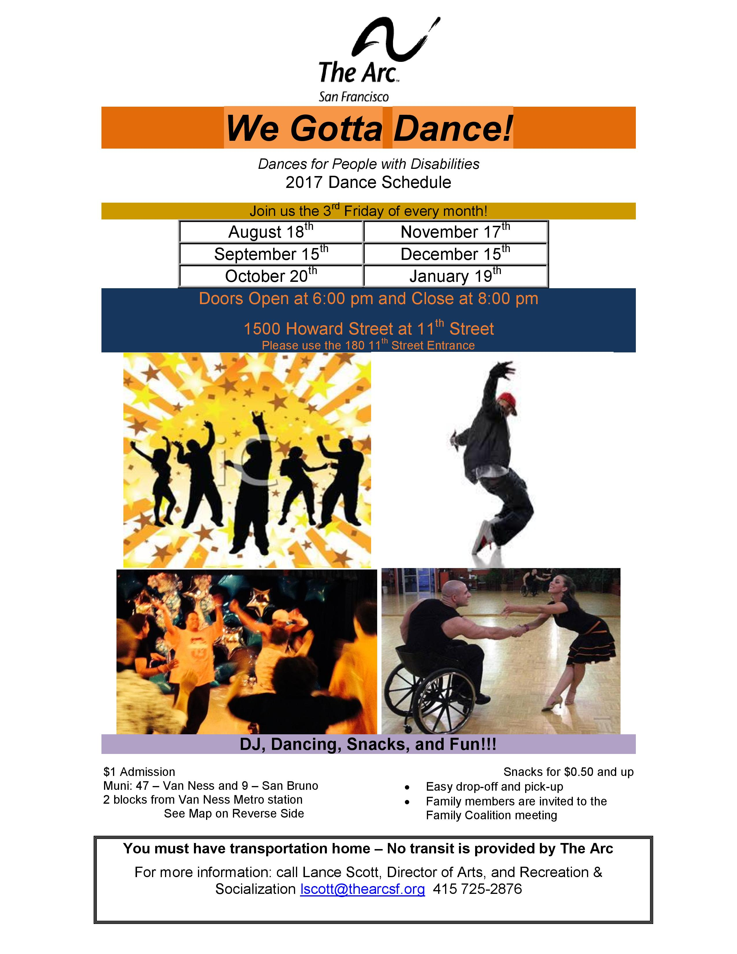 We Gotta Dance!