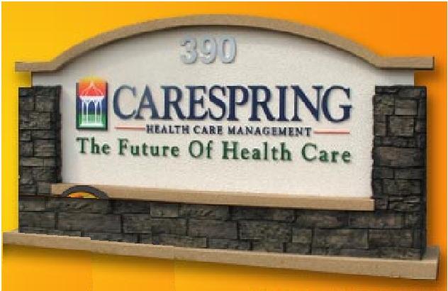 B11002 - Health Care Management Monument Sign