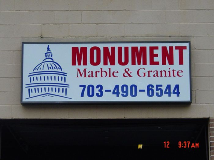Monument Storefront Sign