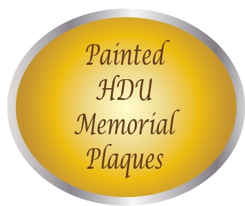 ZP-6000 -  Carved Memorial and Commemorative Wall Plaques, Painted High-Density-Urethane (HDU) with Giclee Photo