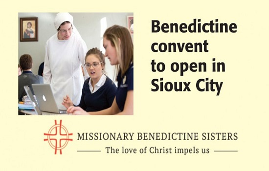 Benedictine Convent to Open at Holy Cross in Sioux City