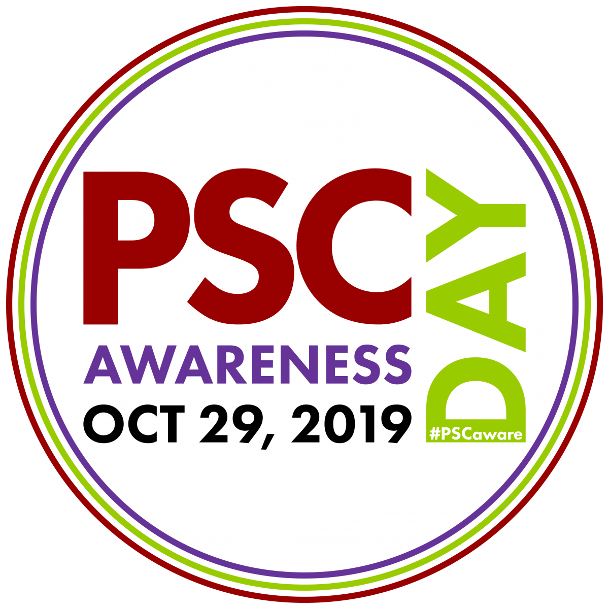Say thank you to groups that are helping folks with PSC on Awareness Day!