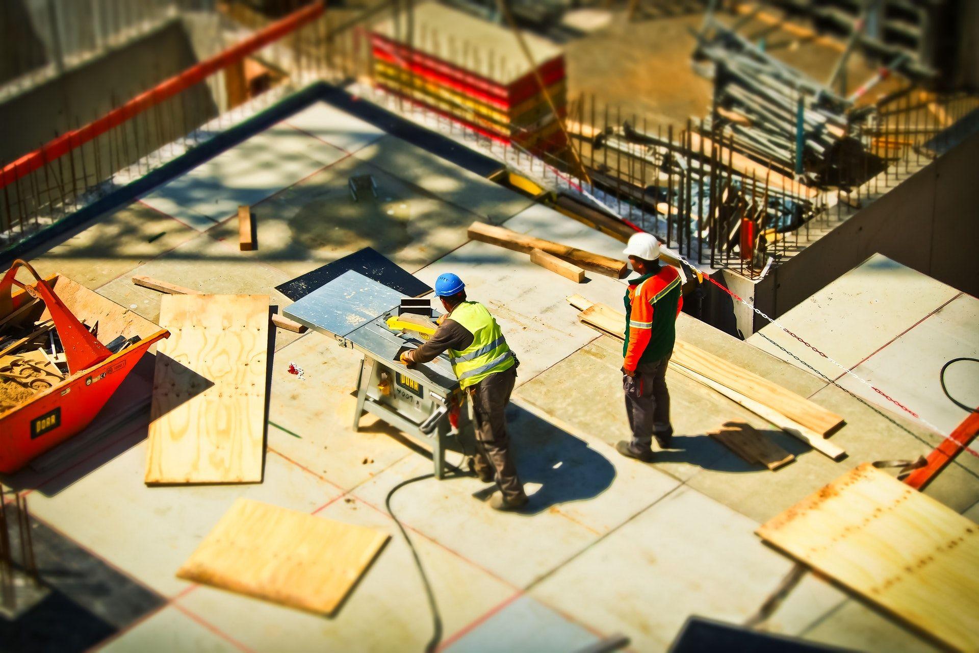 Construction sites can be dangerous.