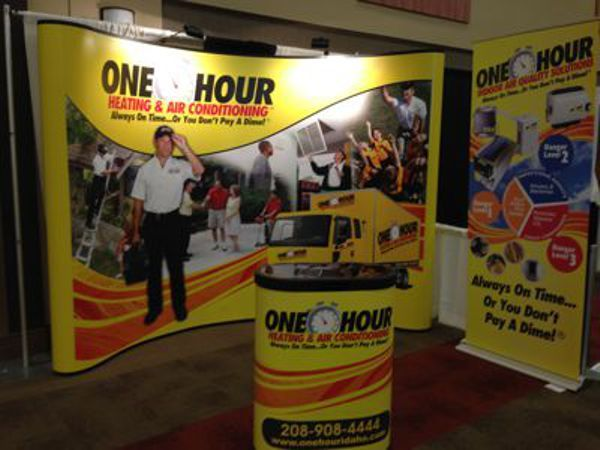 Trade Show Pop-Up Display