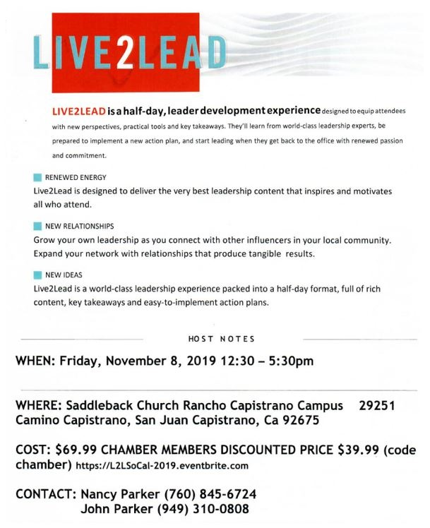 LIVE2LEAD Event