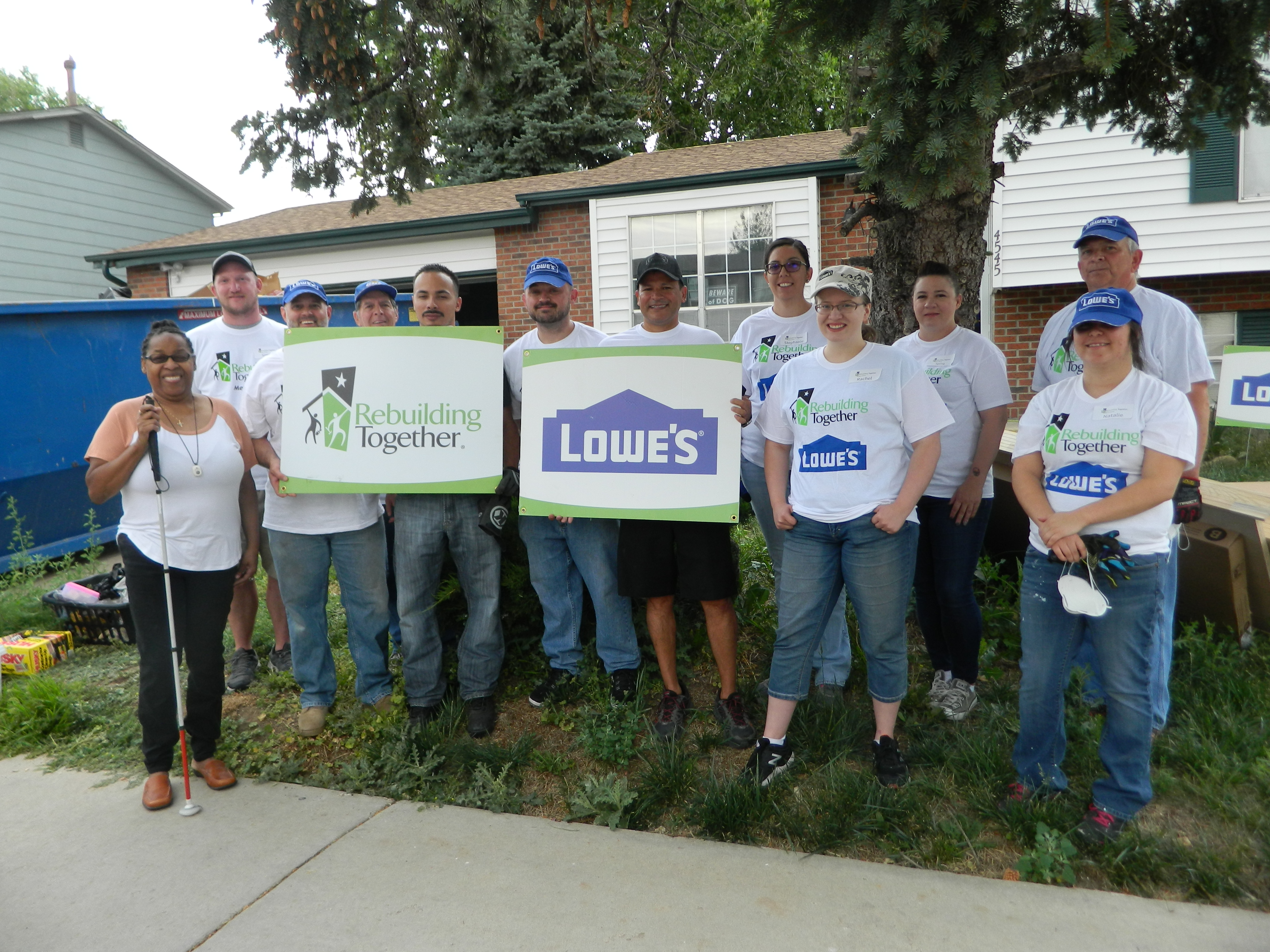 Lowe's Rebuilding Day