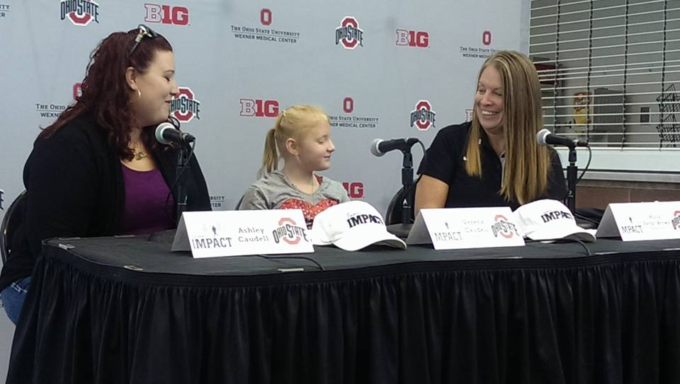 Ohio State Synchronized Swimming Team makes a big 'Impact'